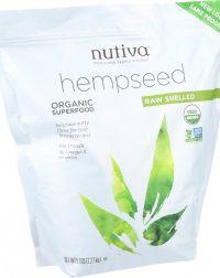 Nutiva Organic Hempseed - Shelled - 5 lb