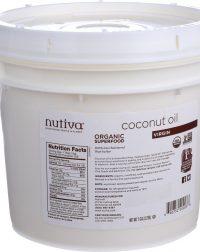 Nutiva Organic Coconut Oil - Extra Virgin - 1 gal